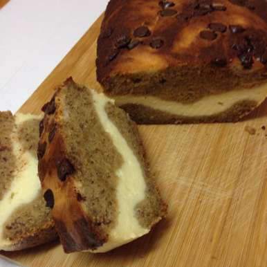 Photo of Banana Bread with Cheesecake filling by Afroz Shaikh at BetterButter