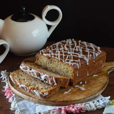 Photo of Banana Bread with Sugar glaze by Afroz Shaikh at BetterButter