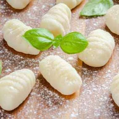 Photo of Ricotta & Parmigiano Reggiano Gnocchi Tossed in Butter & Basil by Agri form at BetterButter