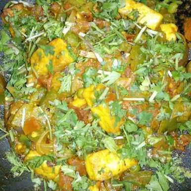 Photo of PANEER CURRY by AKSHITH SIRIGIRI at BetterButter