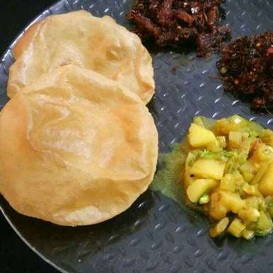 Photo of Poori by Akum Raj Jamir at BetterButter