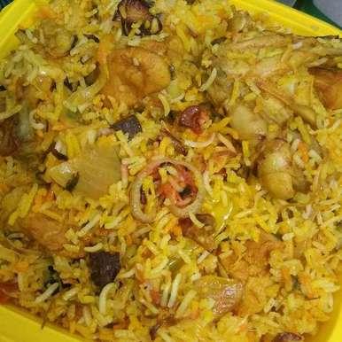 Chicken Dum Biryani, How to make Chicken Dum Biryani