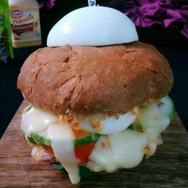 Egg Burger, How to make Egg Burger