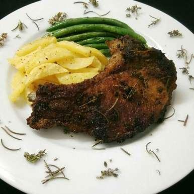 Photo of Pan Roasted Pork Chop by Akum Raj Jamir at BetterButter