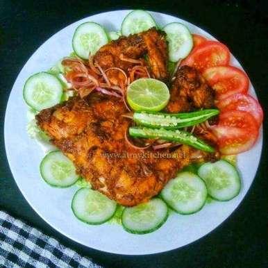 Photo of Tandoori Chicken - Oven Baked by Akum Raj Jamir at BetterButter