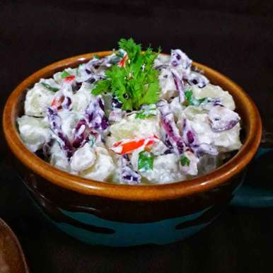 Photo of Potato Yogurt Salad by Akum Raj Jamir at BetterButter