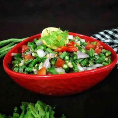 Photo of Yardlong Beans Salad/ Long Beans Salad by Akum Raj Jamir at BetterButter