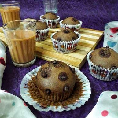 Photo of Chocolate Banana Muffins by Akum Raj Jamir at BetterButter