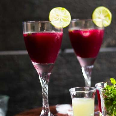 Photo of Pomegranate Lemonade by Alka Jena at BetterButter