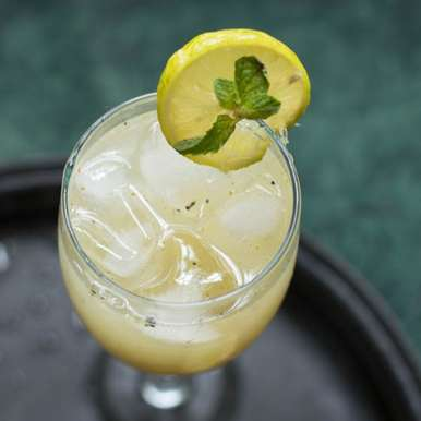 Photo of Sparkling Mint Ginger lime cooler by Alka Jena at BetterButter