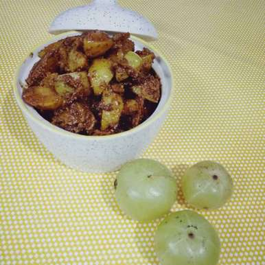 Photo of Gooseberry pickle by Alka Munjal at BetterButter