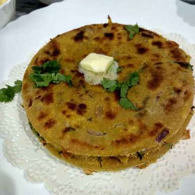 Photo of Rajasthani tikker parantha by Alka Munjal at BetterButter