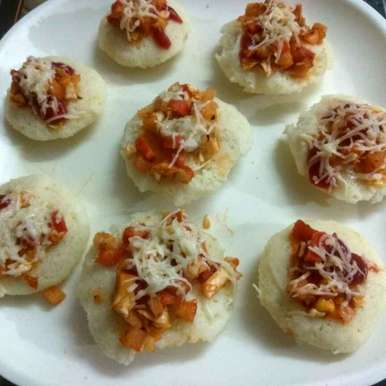 Photo of Idli Pizza by Alka Munjal at BetterButter