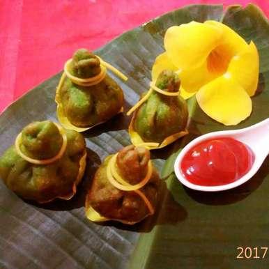 Veg stuffed sweet potato potli recipe in Hindi,वेज़ स्टफ स्वीट पोटैटो पोटली, alka(priyanka) sharma
