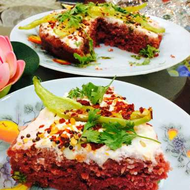 Red velvet rava dhokla, How to make Red velvet rava dhokla