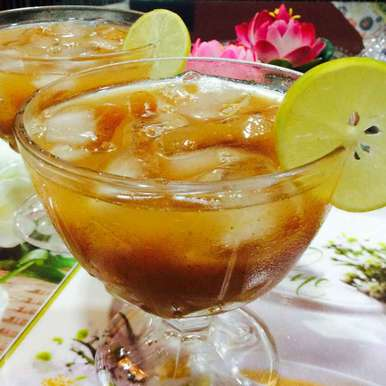 Photo of Mango iced tea by Alka Verma at BetterButter