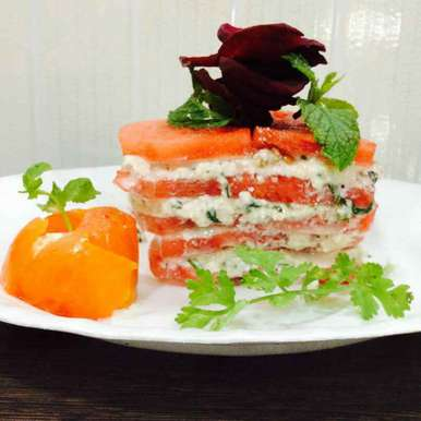 Photo of Watermelon Ricotta Lasagna by Alka Verma at BetterButter