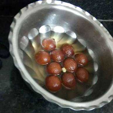 Photo of Instant gits gulaab jamun by alqua tahseen at BetterButter