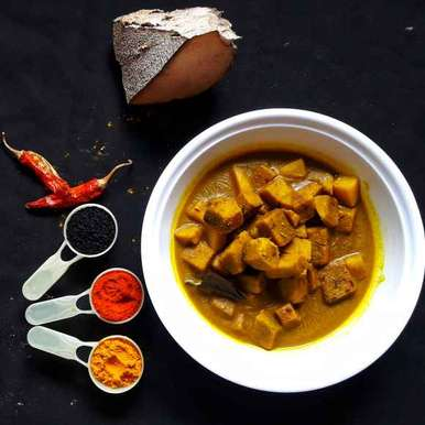 Photo of Yam curry by Ambitious Gopa Dutta at BetterButter