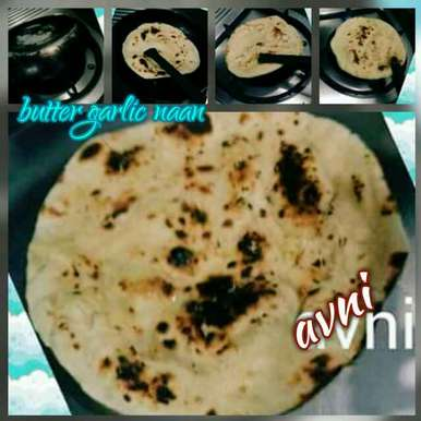 Photo of Butter Garlic Naan by Avni Arora at BetterButter