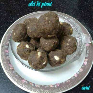Photo of Alsi/Flaxseed Pinni by Avni Arora at BetterButter