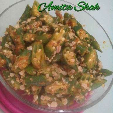 Photo of Okra Oats by Amita Shah at BetterButter