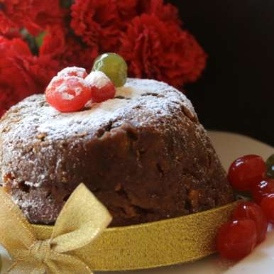 Photo of Christmas Pudding / Christmas Plum Pudding by Amrita Iyer at BetterButter