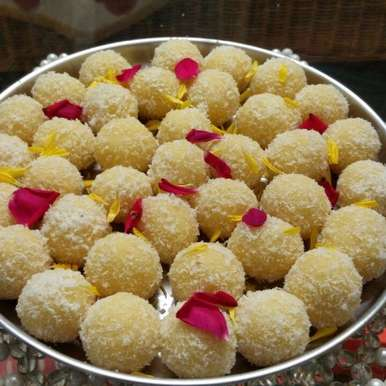 Photo of Khoya/ Mawa Laddoo by Anamika Naik at BetterButter