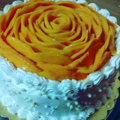Photo of Mango cake by Anita Bhawari at BetterButter