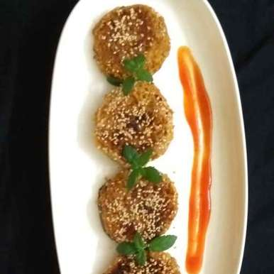 Photo of Coconut soya eggplant cutlet by Anita Nandi at BetterButter