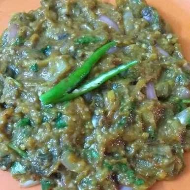 Photo of Achari mashed eggplant by Anita Nandi at BetterButter