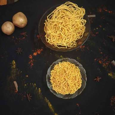 Aloo sev recipe in Hindi,आलू सेव, Anita Rajai