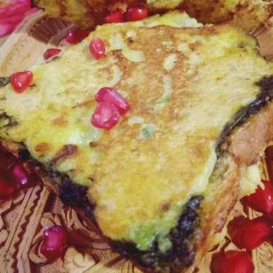 Photo of Potato stuff bread pakoda on tawa by anita uttam patel at BetterButter