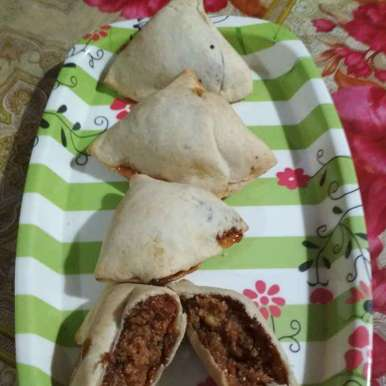 Photo of Baked sweet mava smosa by anita uttam patel at BetterButter