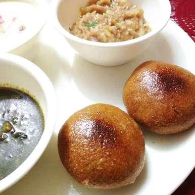 Photo of Chokha baati by anita uttam patel at BetterButter