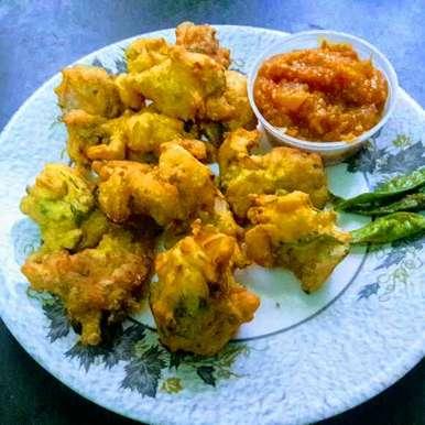 Ulli pakodi recipe in Telugu,ఉల్లి పకోడీ, Anitha Rani