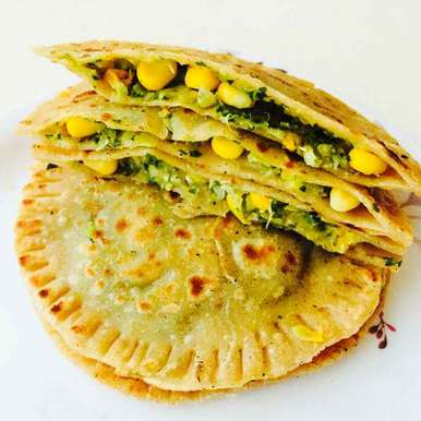 Photo of Corn Coriander Calzone by Anitha Rani at BetterButter