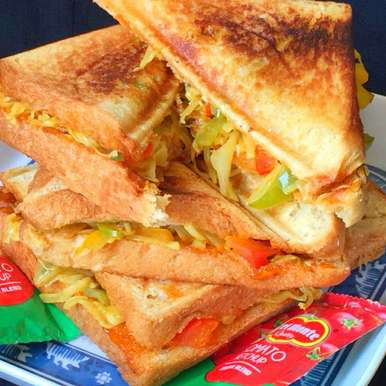 Photo of Vegetable Grilled Sandwiches !! by Anjali Suresh at BetterButter