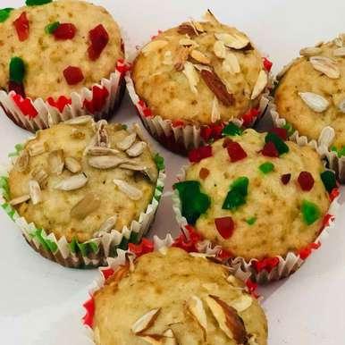 Photo of banana oats muffins by Anjali Valecha at BetterButter