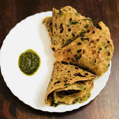 Photo of Methi paranthe by Anjali Valecha at BetterButter