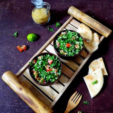 Photo of Tabbouleh salad Recipe by Anjana Chaturvedi at BetterButter