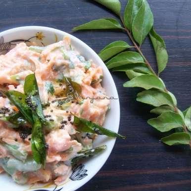 Photo of Carrot Capsicum Raita Recipe by Anjana Rao at BetterButter