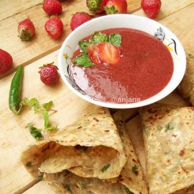Photo of Strawberry Mint Chutney by Anjana Rao at BetterButter