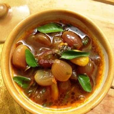 Photo of Ulipaya Pulusu Recipe by Anjana Rao at BetterButter