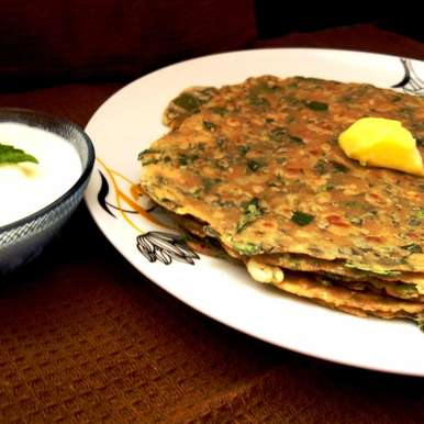 Photo of Methi Paratha Recipe by Anjana Rao at BetterButter