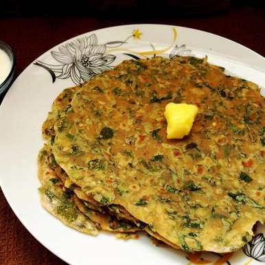 Photo of Methi Paratha Recipe by Anjana Rao at BetterButter
