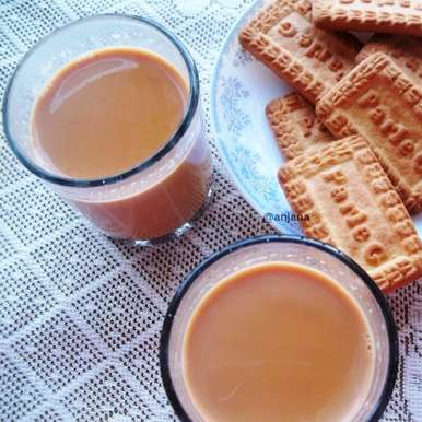 Photo of Ginger Tea/ Adrak Wali Chai  by Anjana Rao at BetterButter