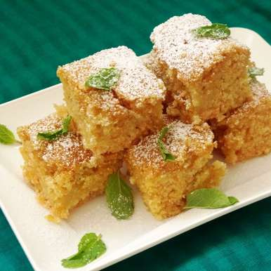 Photo of Eggless Lemon Semolina Cake by Anjana Rao at BetterButter