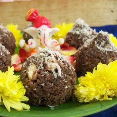 Photo of Choco Coco Modak  by Anjana Rao at BetterButter
