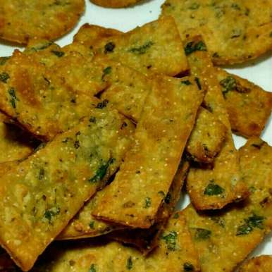 Multi grain spinach methi munchies, How to make Multi grain spinach methi munchies